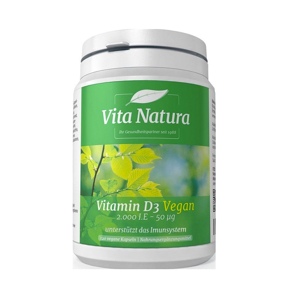 Vitamin D3 2.000 I.E.  Vegan